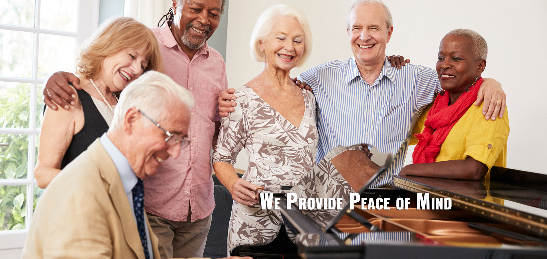 We Provide Peace of Mind